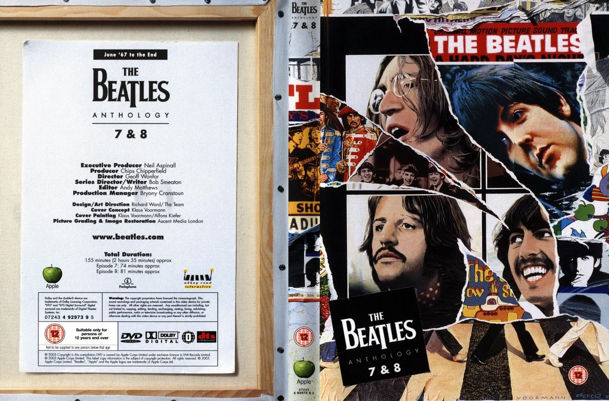 The beatles anthology audio covers